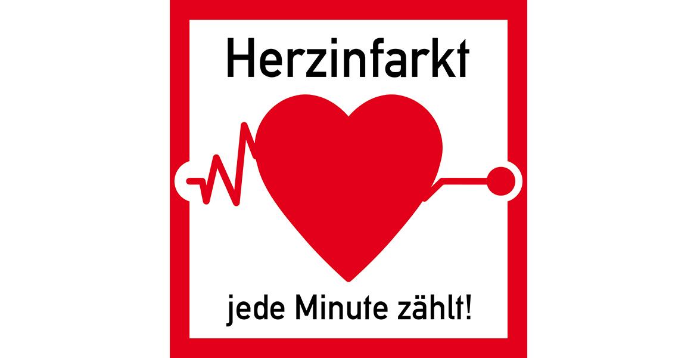 ss2 SignSquare - hb31 HeartbeatBanner - Herzinfarkt - jede Minut